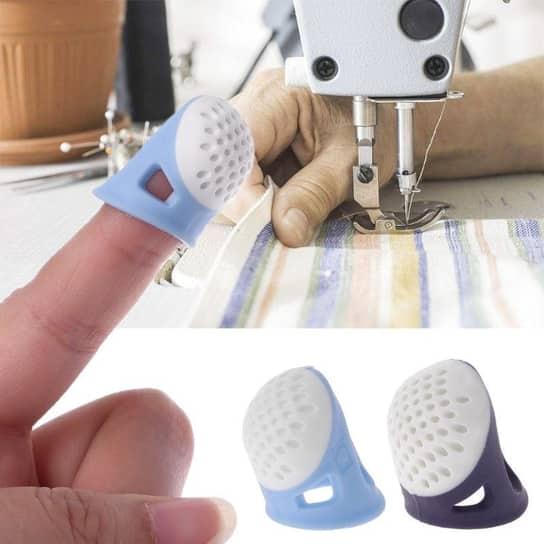 dedal de silicona para coser