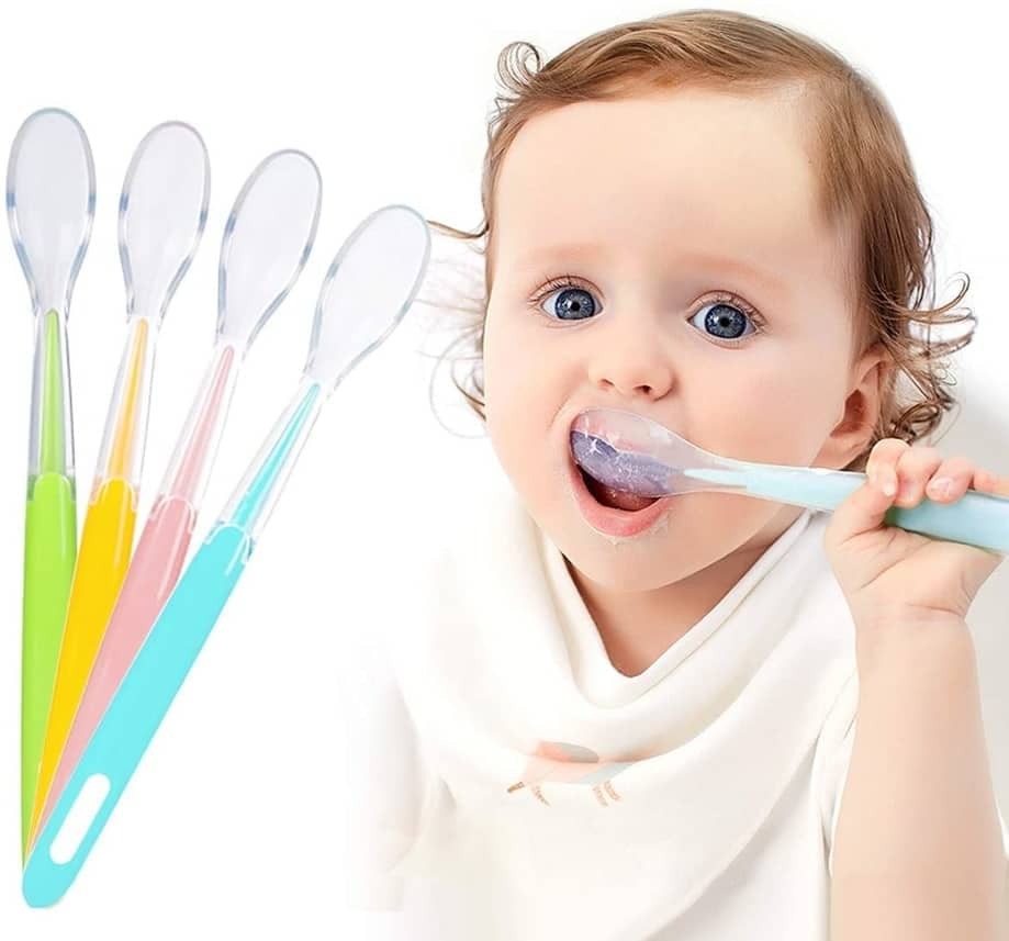 cuchara silicona bebe 3